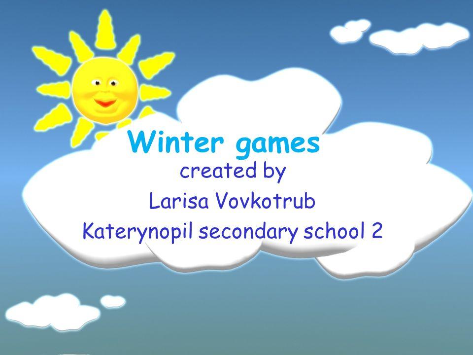 What do children like doing in winter?