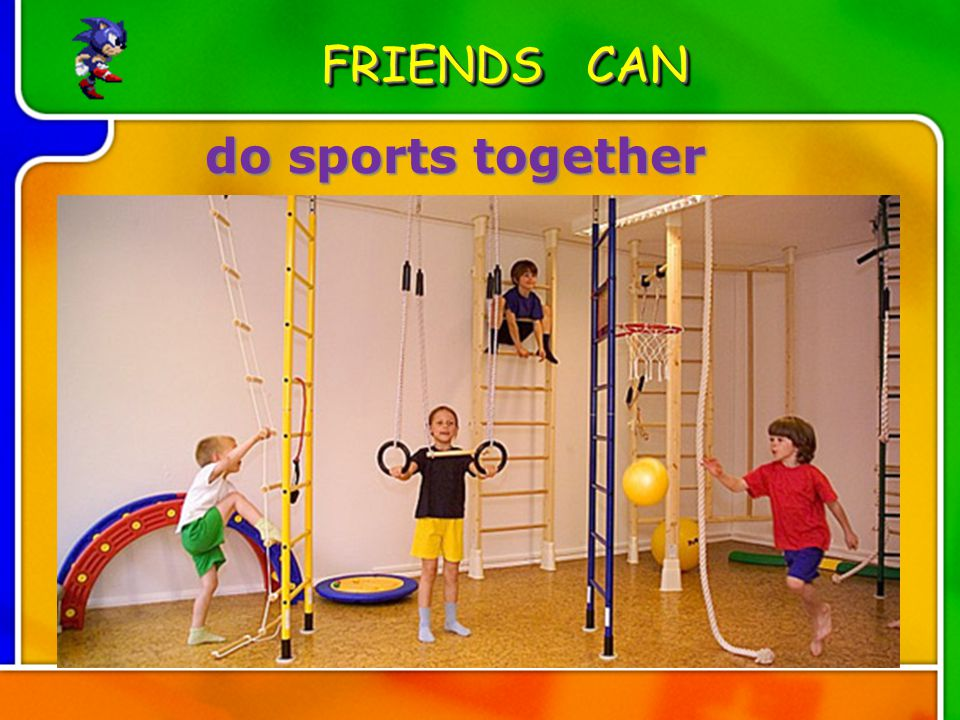 do sports together