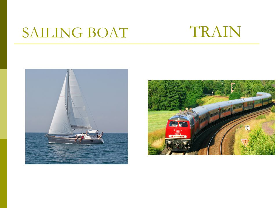 SAILING BOAT TRAIN