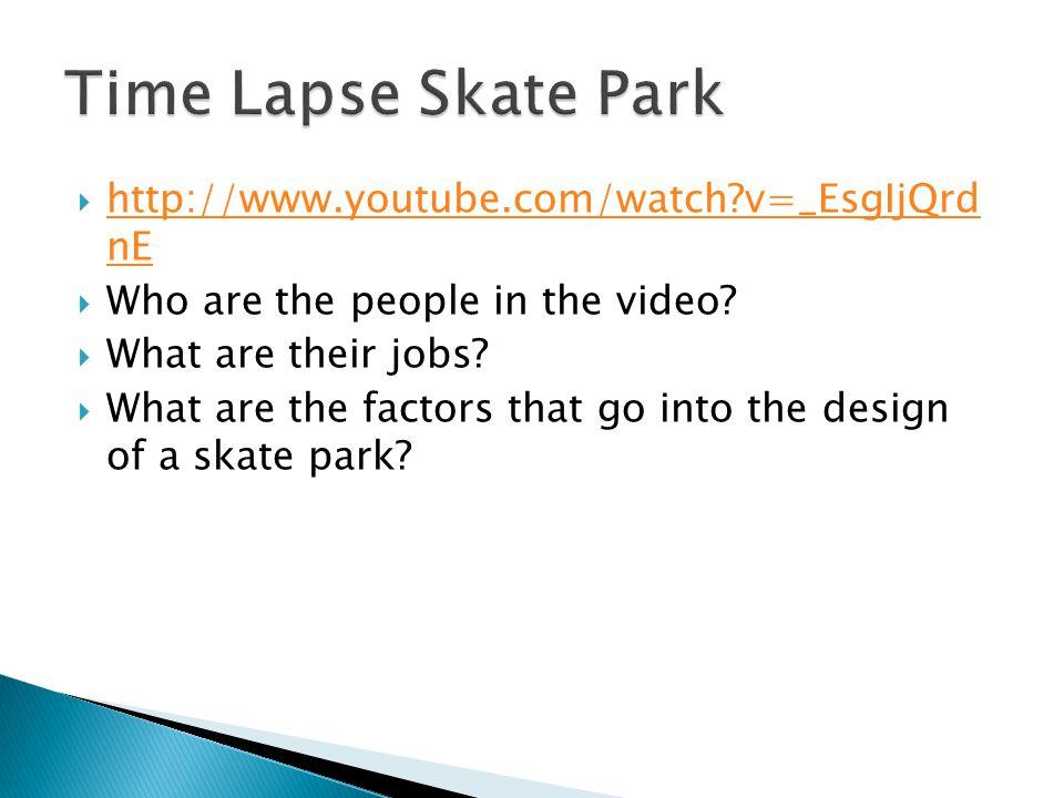  http://www.youtube.com/watch?v=_EsgIjQrd nE http://www.youtube.com/watch?v=_EsgIjQrd nE  Who are the people in the video.