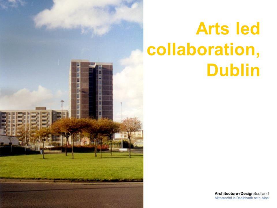 Arts led collaboration, Dublin