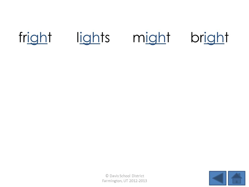 frightlightsmightbright thighskidfightpride highdimeshipright © Davis School District Farmington, UT 2012-2013