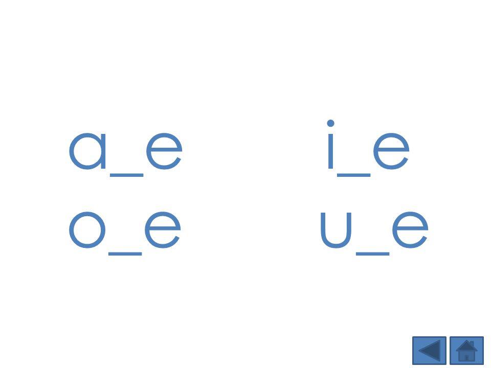 a_ei_e o_e u_e