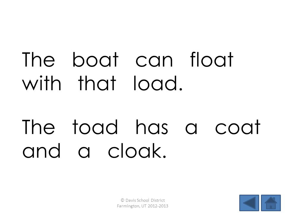 The boat can float with that load.