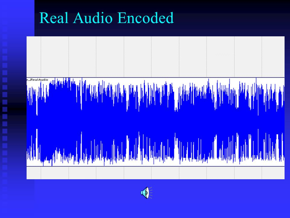 Real Audio Encoded