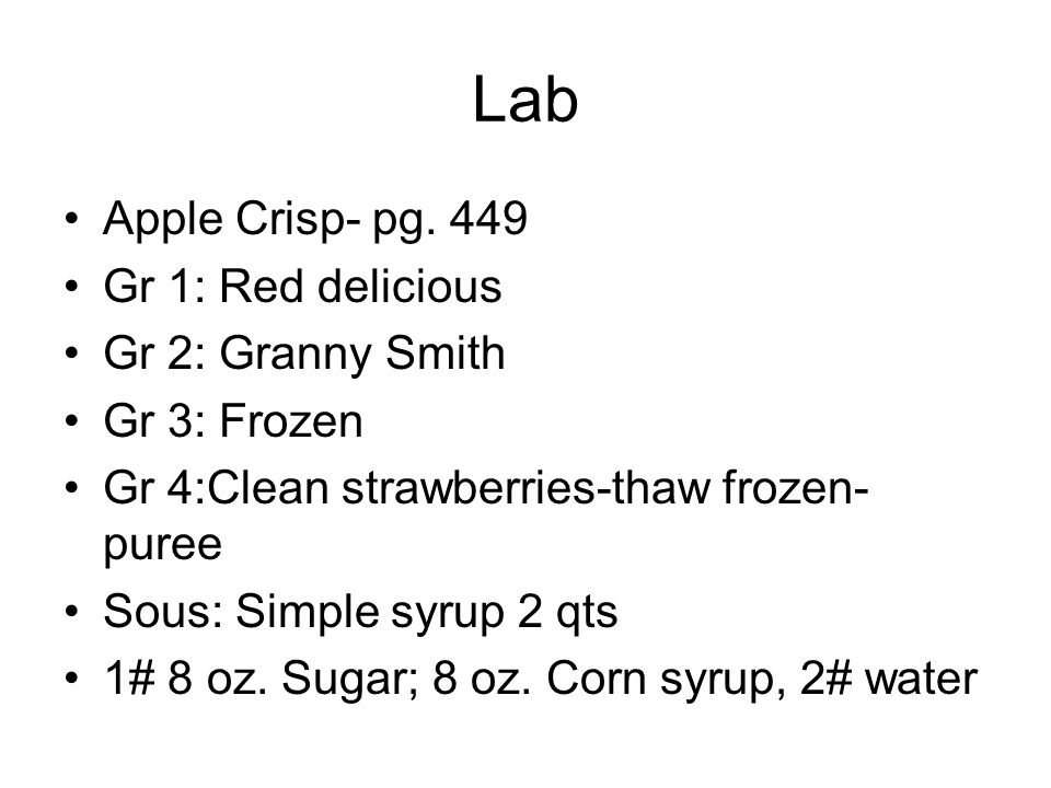 Lab Apple Crisp- pg.