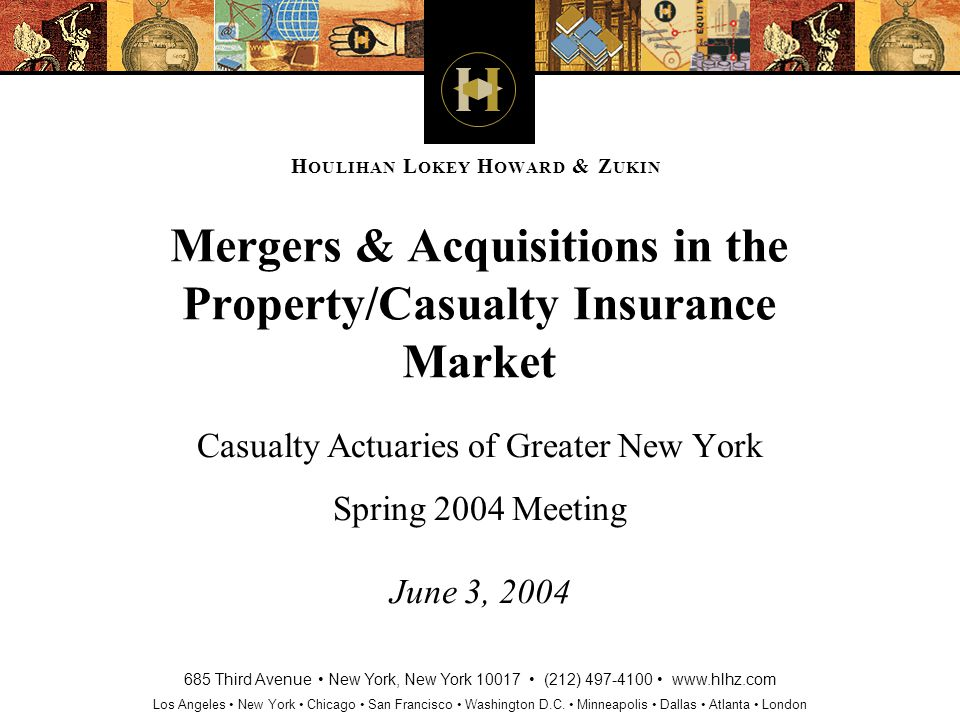 2 Agenda – Property & Casualty Insurance Industry Fundamentals Historical M&A Trends Recent M&A Trends M&A Outlook