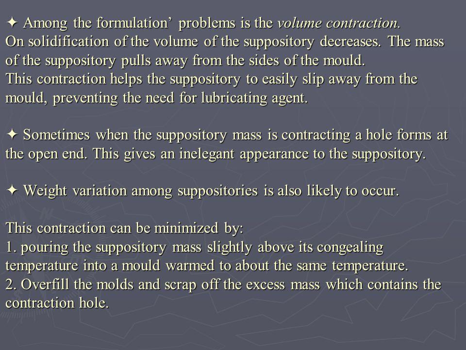 a.Weight variation: a. Weight variation: - Weigh 20 suppositories individually.