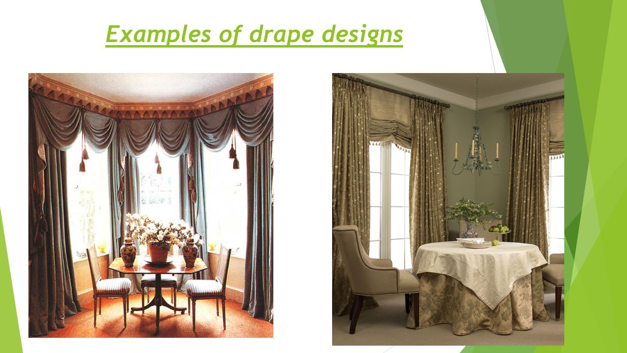 SHADES  Shades are another popular choice besides curtains because they regulate the amount of light and offer many beautiful decorative alternatives.