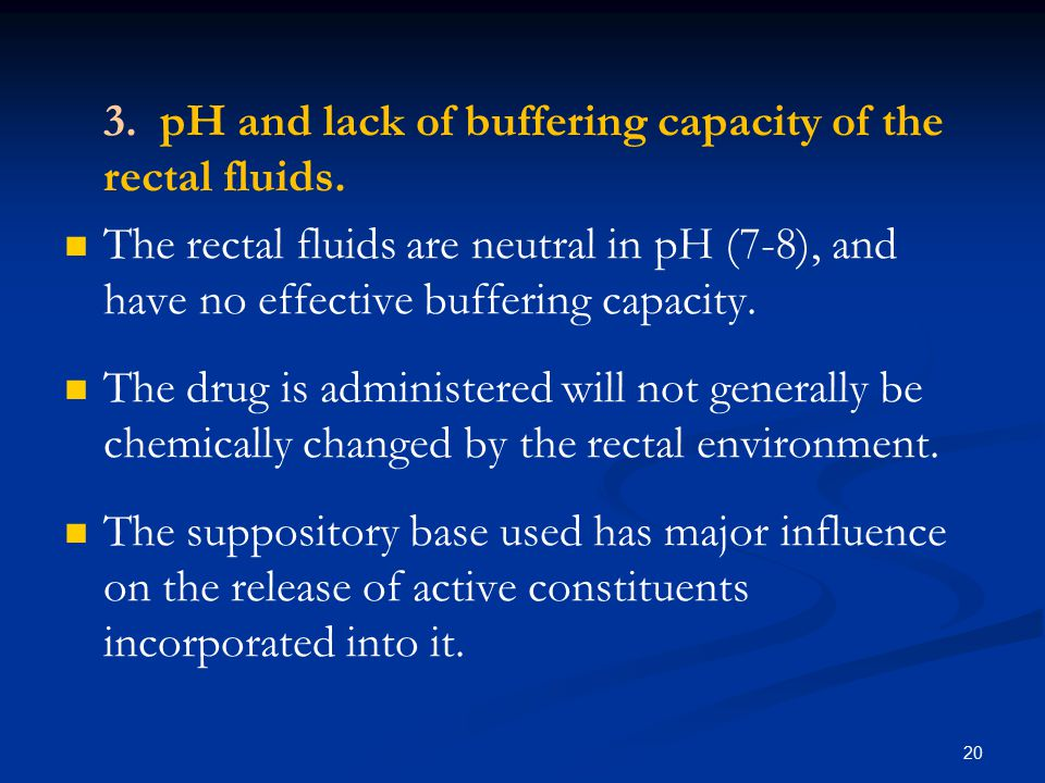 Physicochemical Factors Includes: 1.1. Solubility of the drug in lipid and in water.