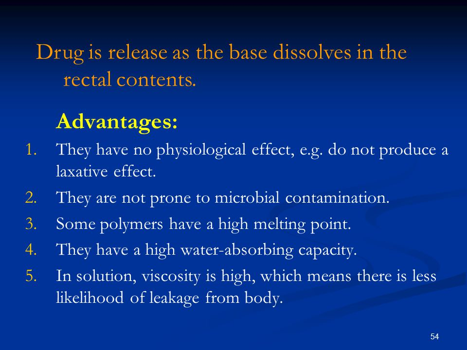 Disadvantages: 1.They are hygroscopic which means they must be carefully stored.