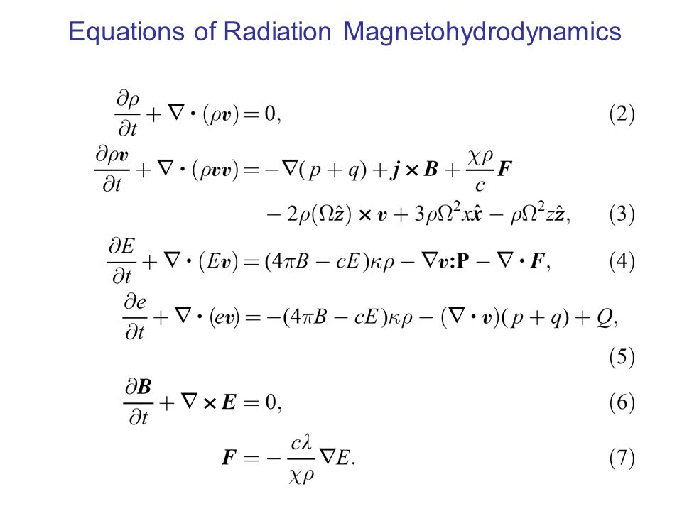 Equations of Radiation Magnetohydrodynamics