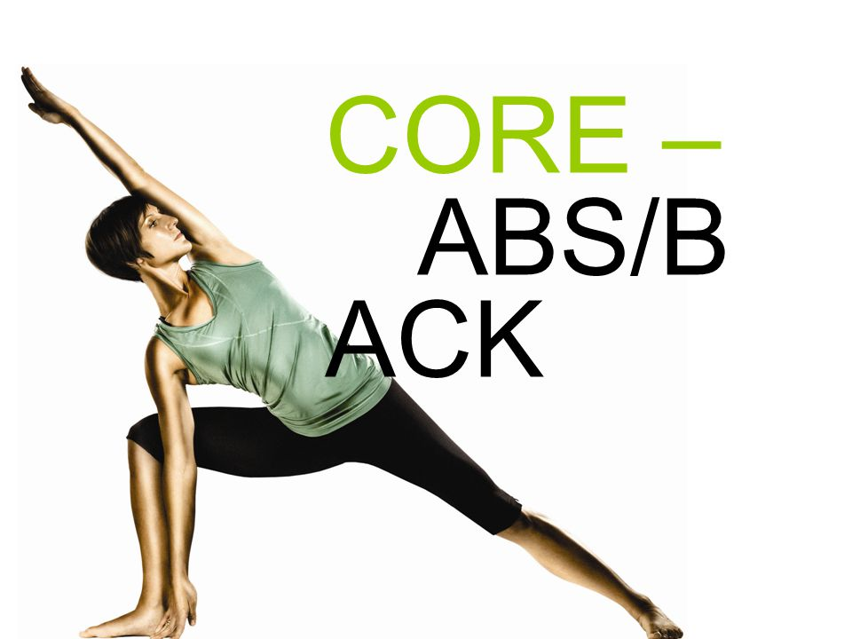 CORE – ABS/B ACK