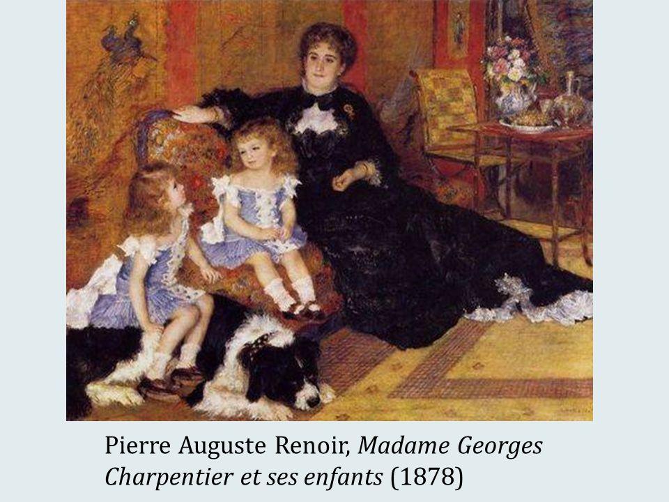 Pierre Auguste Renoir, Madame Georges Charpentier et ses enfants (1878)