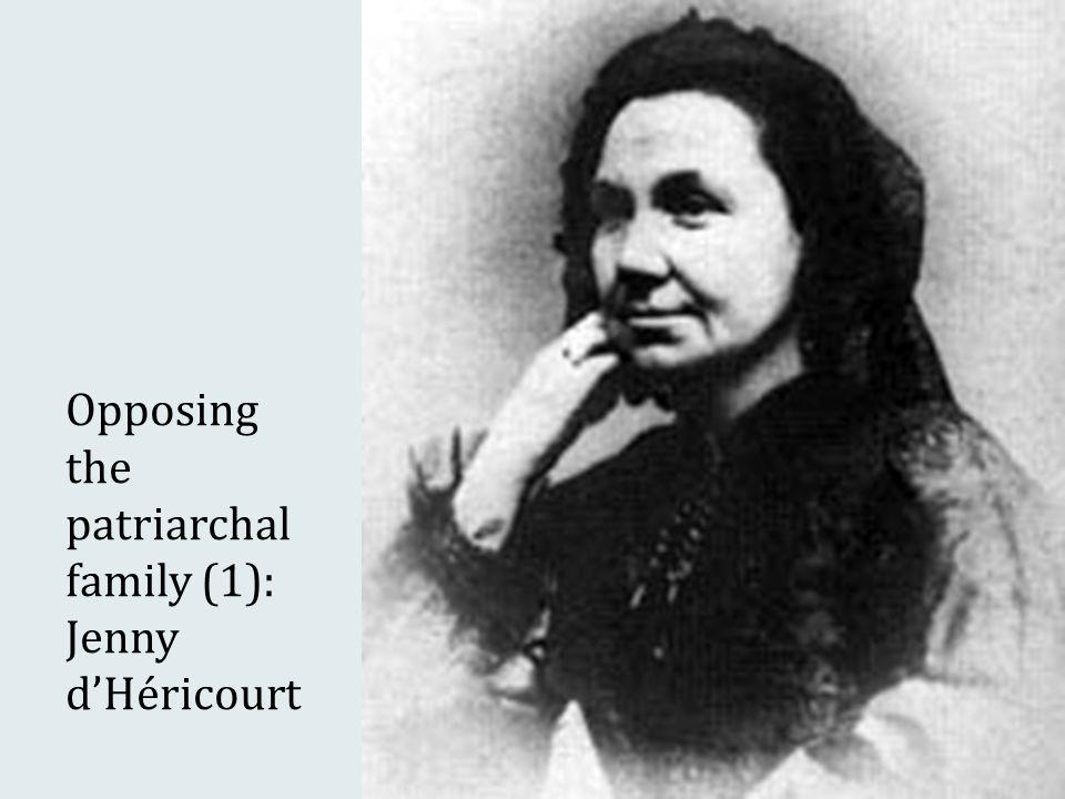 Opposing the patriarchal family (1): Jenny d'Héricourt
