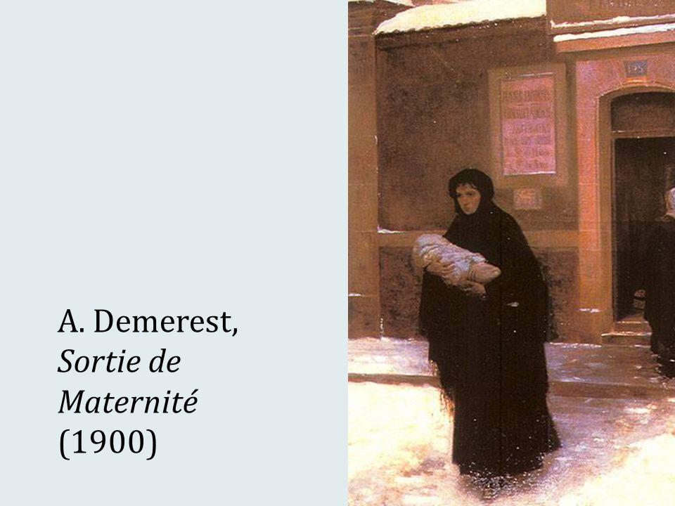 A. Demerest, Sortie de Maternité (1900)