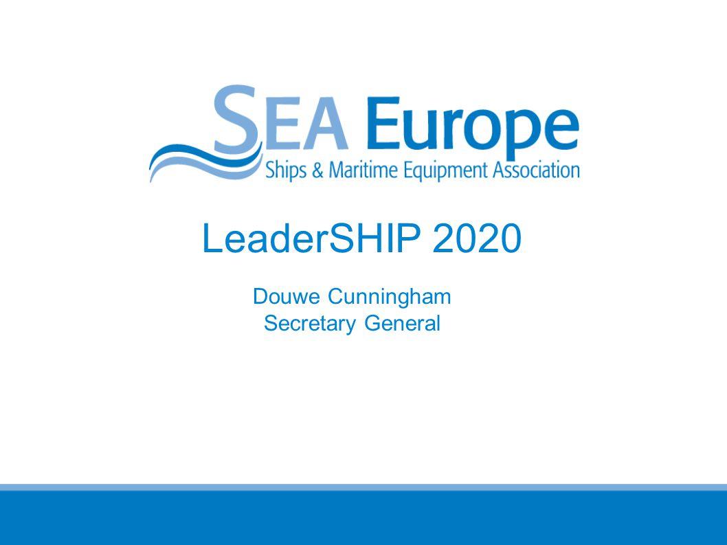 LeaderSHIP 2020 Douwe Cunningham Secretary General