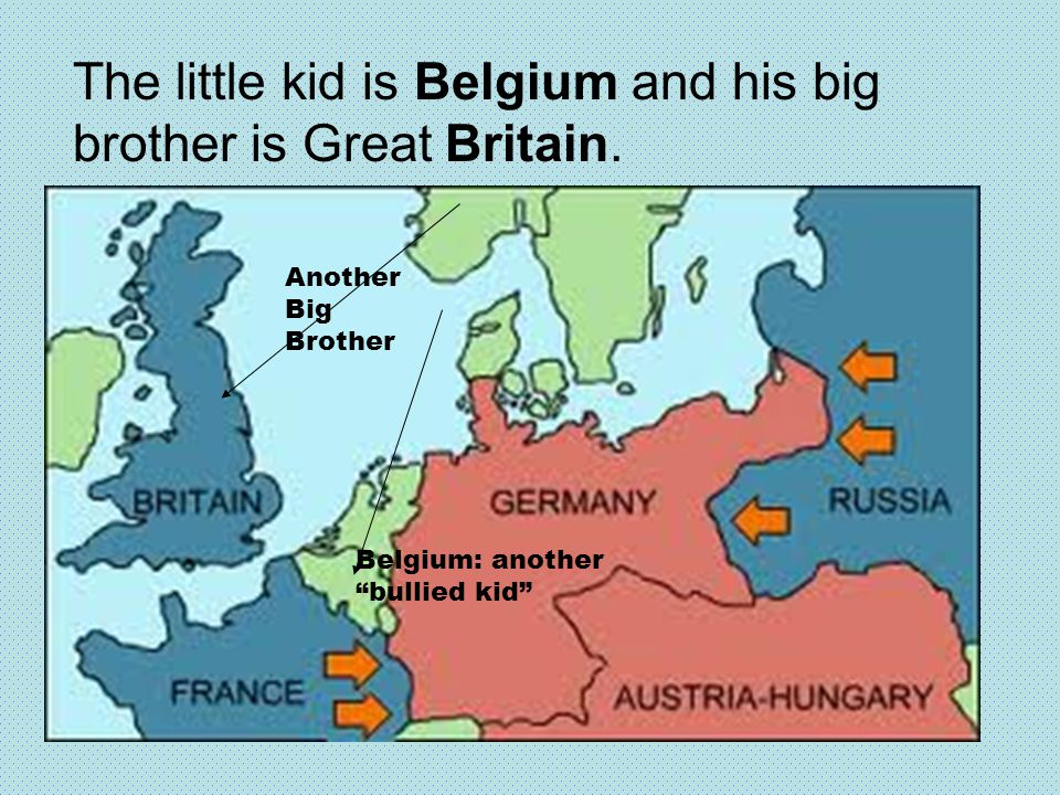 """The little kid is Belgium and his big brother is Great Britain. Another Big Brother Belgium: another """"bullied kid"""""""