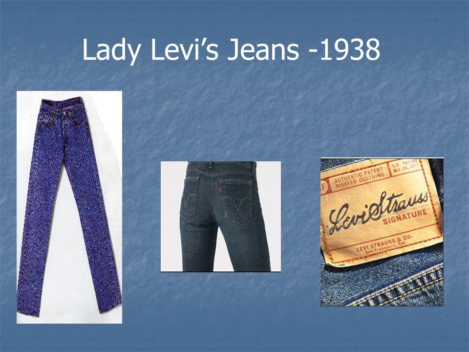 Lady Levi's Jeans -1938