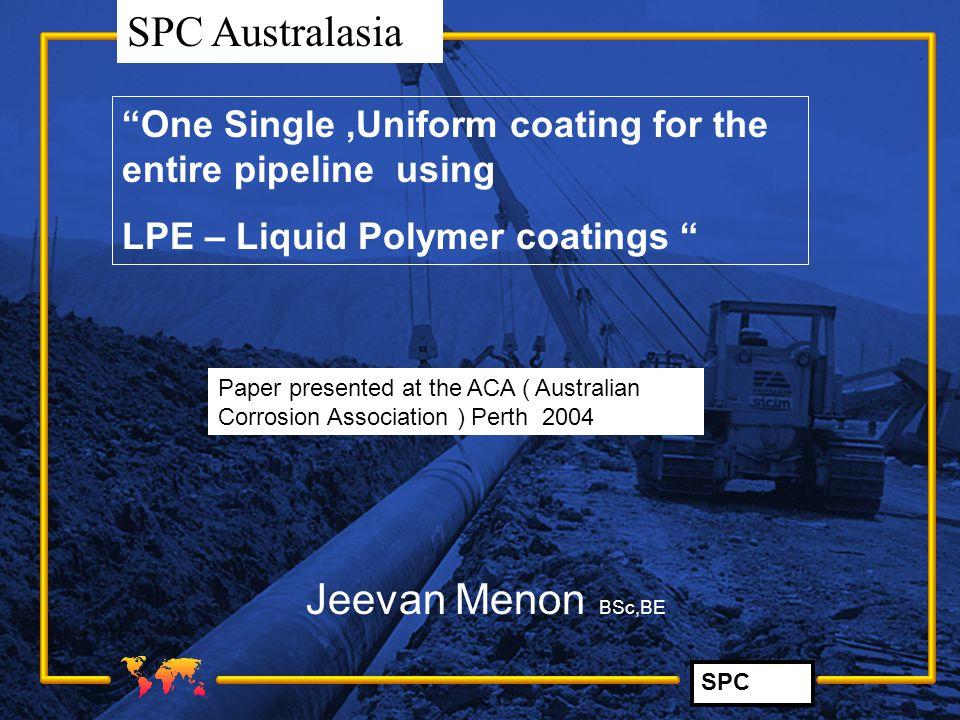 SPC SPC Australasia Coating repairs of Duke 's EGP Pipeline (FBE) with SP2888 brushgrade.