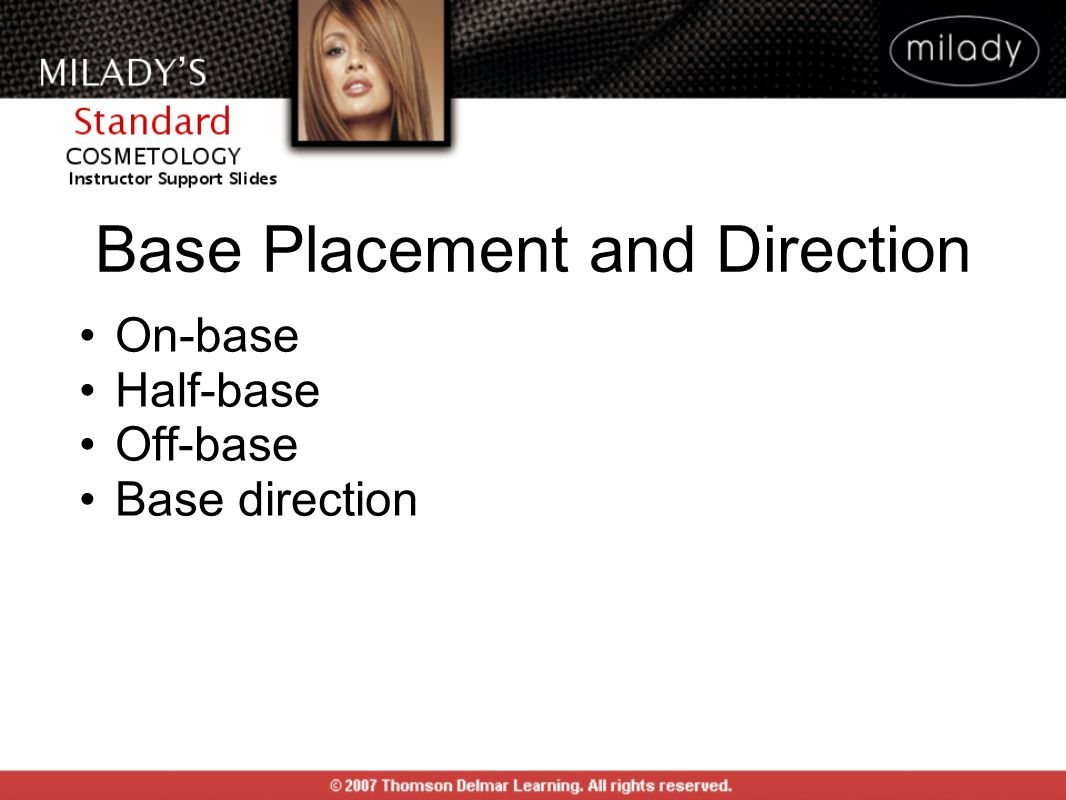 Base Placement and Direction On-base Half-base Off-base Base direction