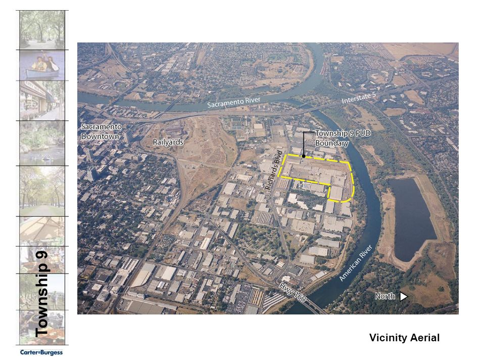 Downtown Vicinity Aerial Hwy 160