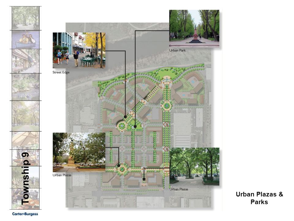 Township 9 Urban Plazas & Parks