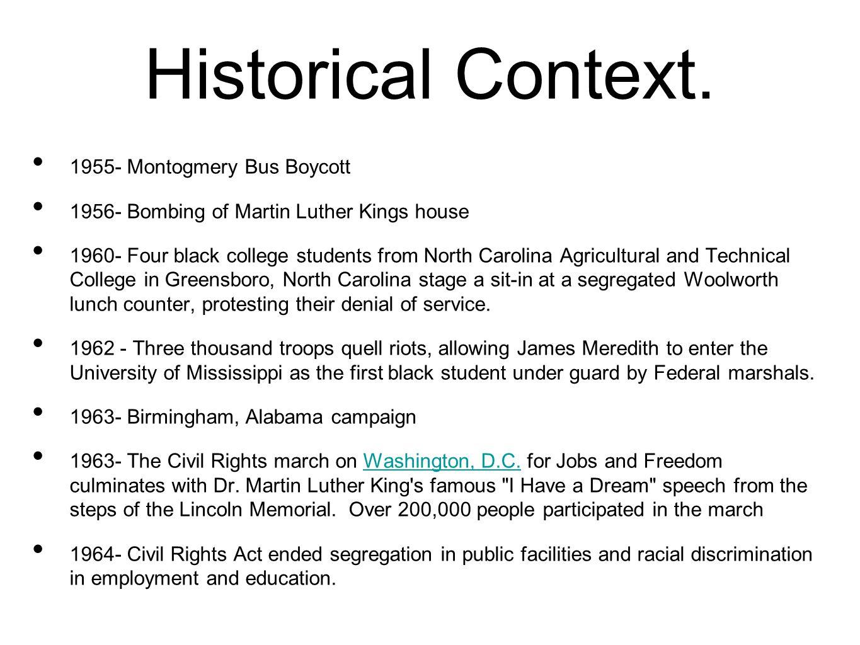 Historical Context.