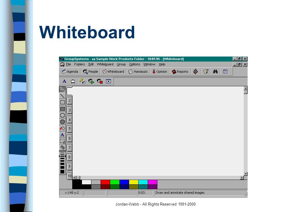Jordan-Webb - All Rights Reserved 1991-2000 Whiteboard