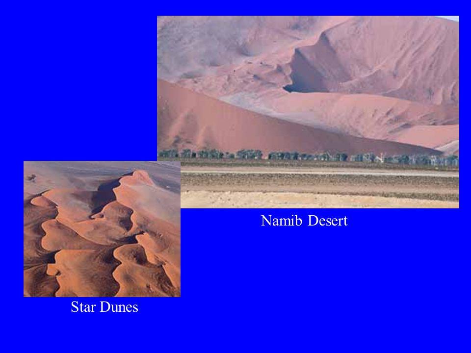 Namib Desert Star Dunes