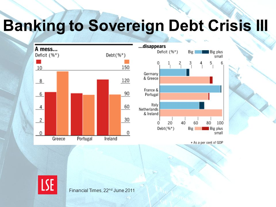 Banking to Sovereign Debt Crisis III Financial Times, 22 nd June 2011