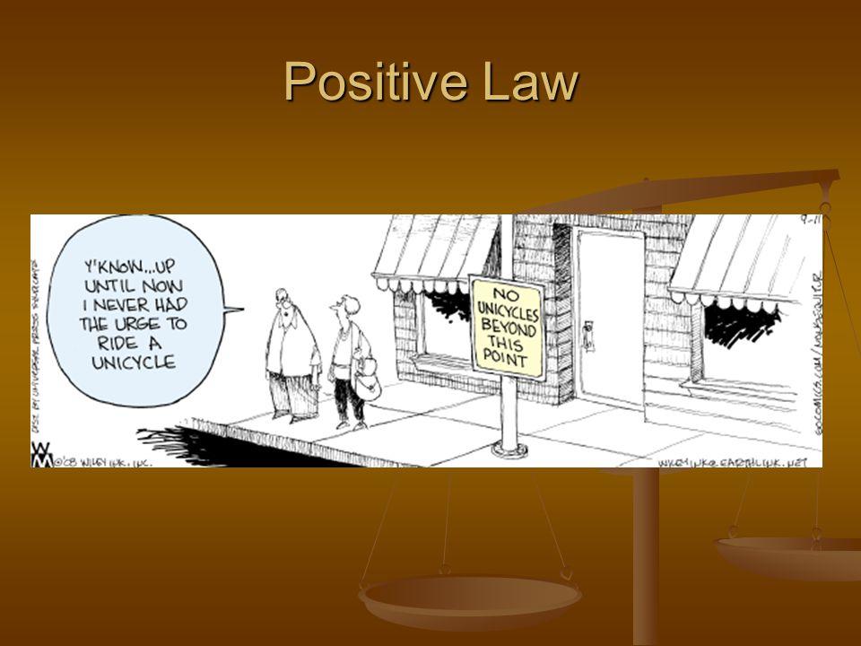 Positive Law