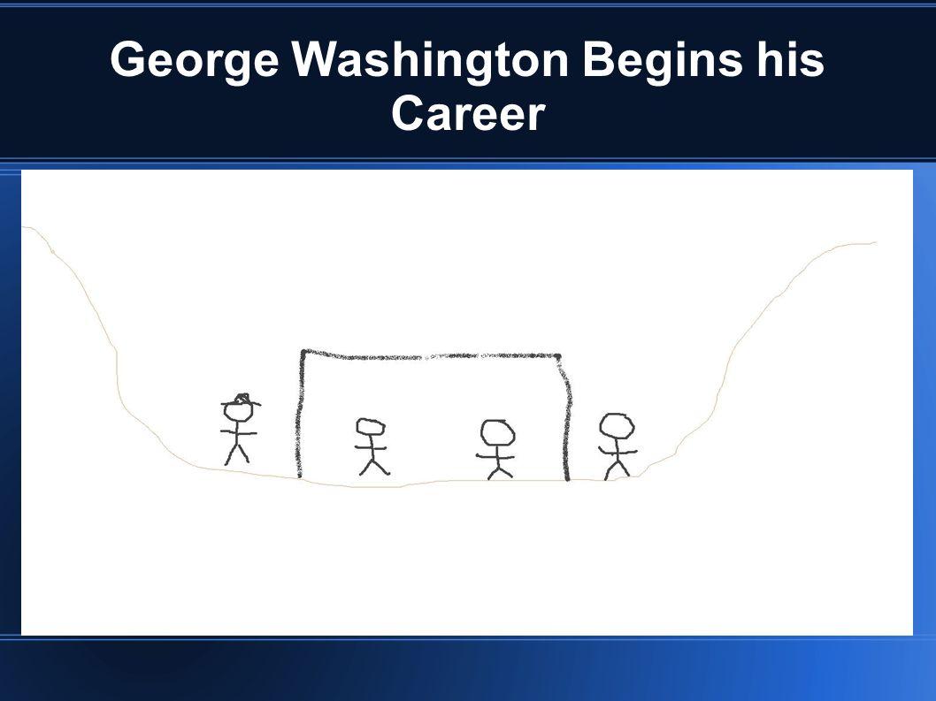 George Washington Begins his Career