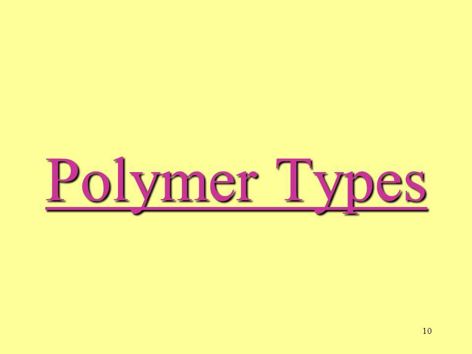 10 Polymer Types