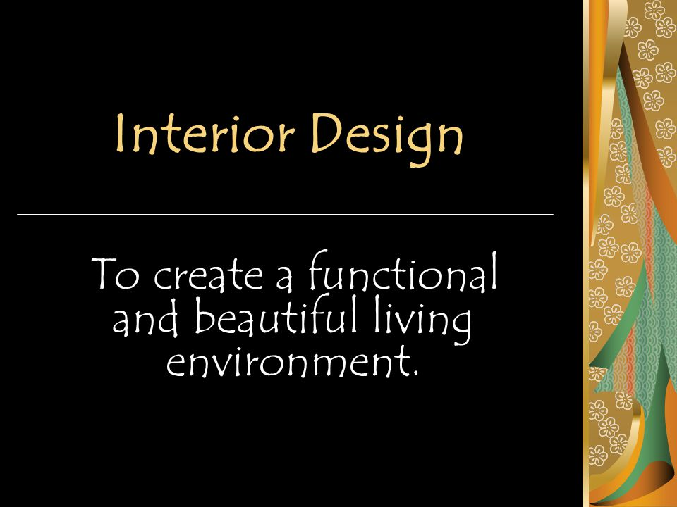 Elements of Design The guidelines used to create pleasing designs are called the elements and principles of design.