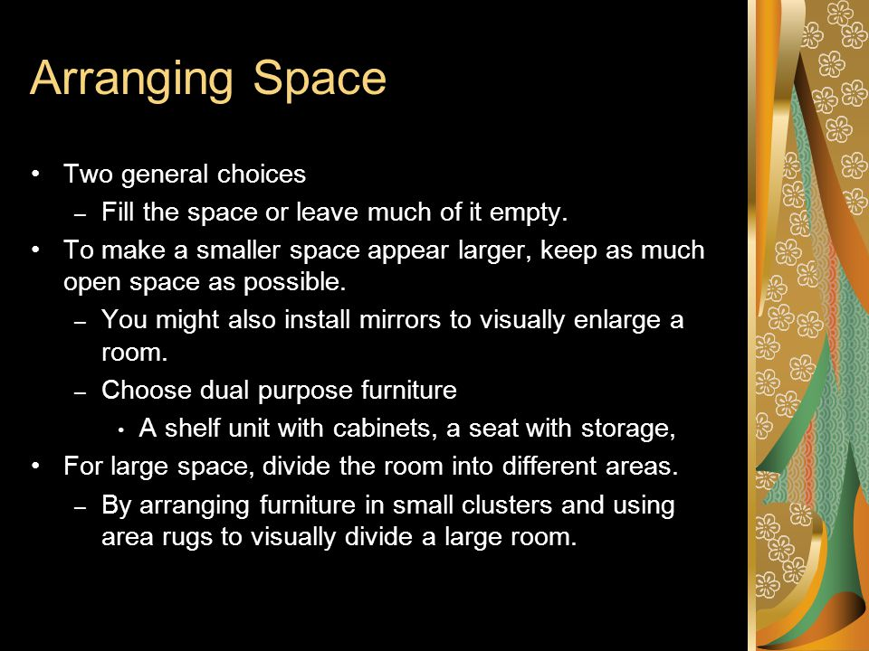 What are your feelings about this space?