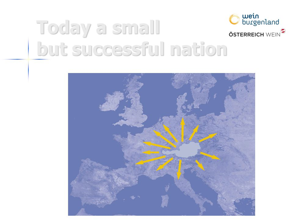 Today a small but successful nation