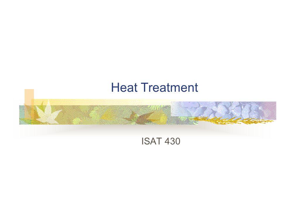 Heat Treatment ISAT 430
