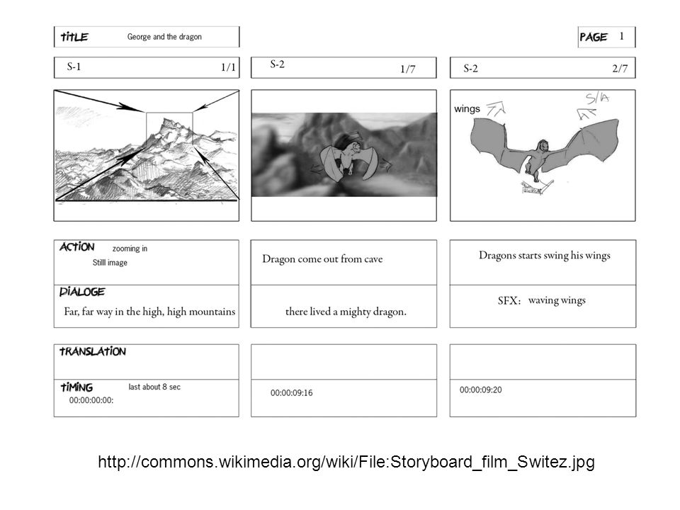 http://commons.wikimedia.org/wiki/File:Storyboard_film_Switez.jpg