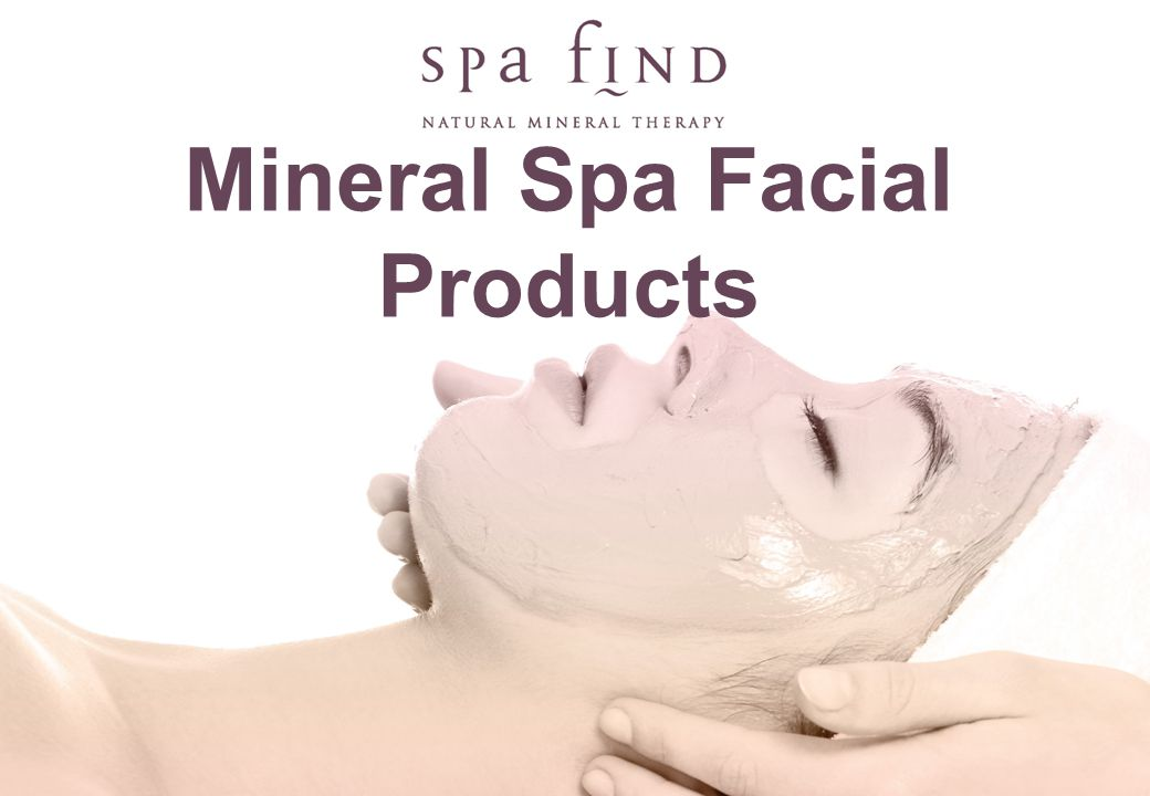 www.shopforspatrade.com 3 Step ritual for retailing Spa Find products are numbered on the packaging as follows: D1 For Cleansing products.