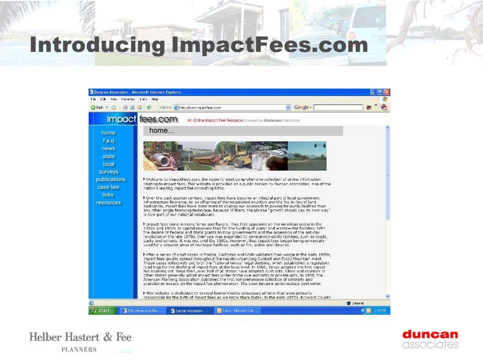 Introducing ImpactFees.com