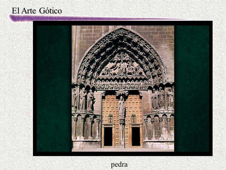 El Arte Gótico pedra