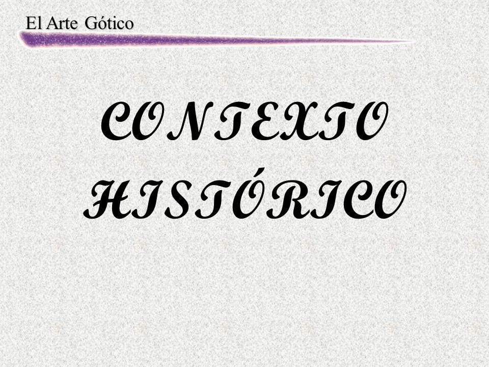 El Arte Gótico CONTEXTO HISTÓRICO
