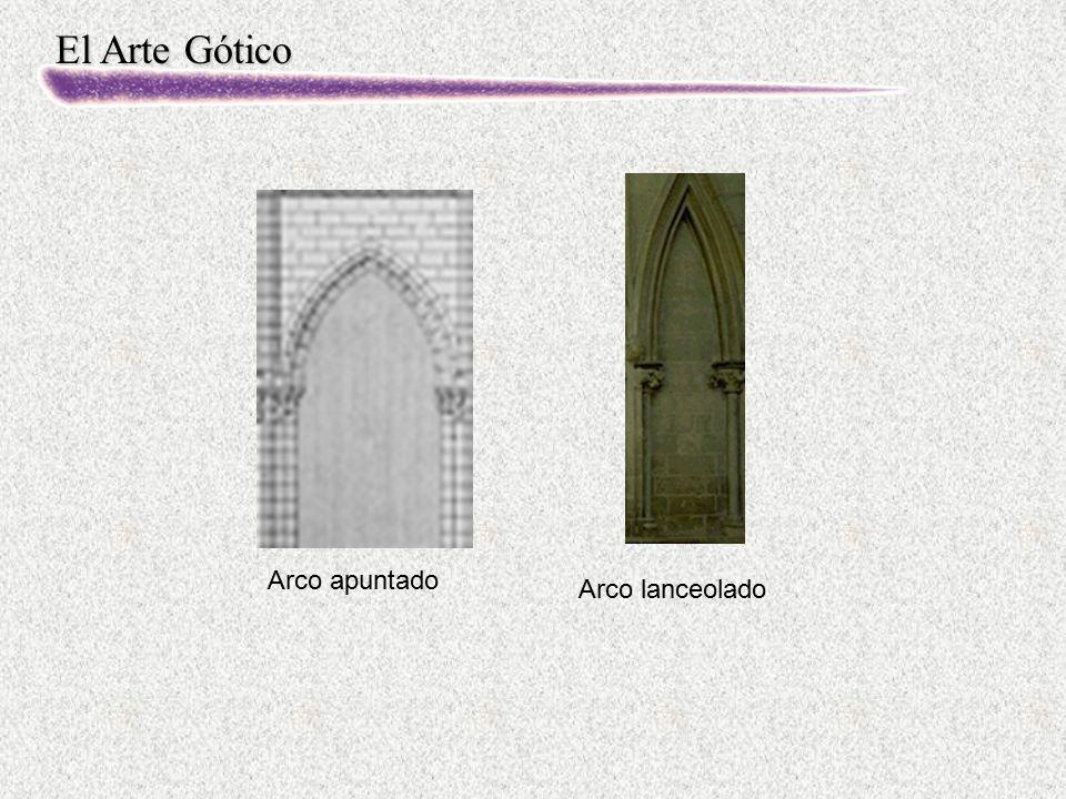 El Arte Gótico Arco apuntado Arco lanceolado