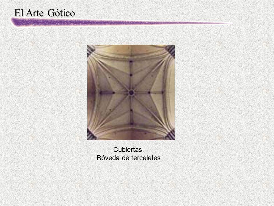 El Arte Gótico Cubiertas. Bóveda de terceletes