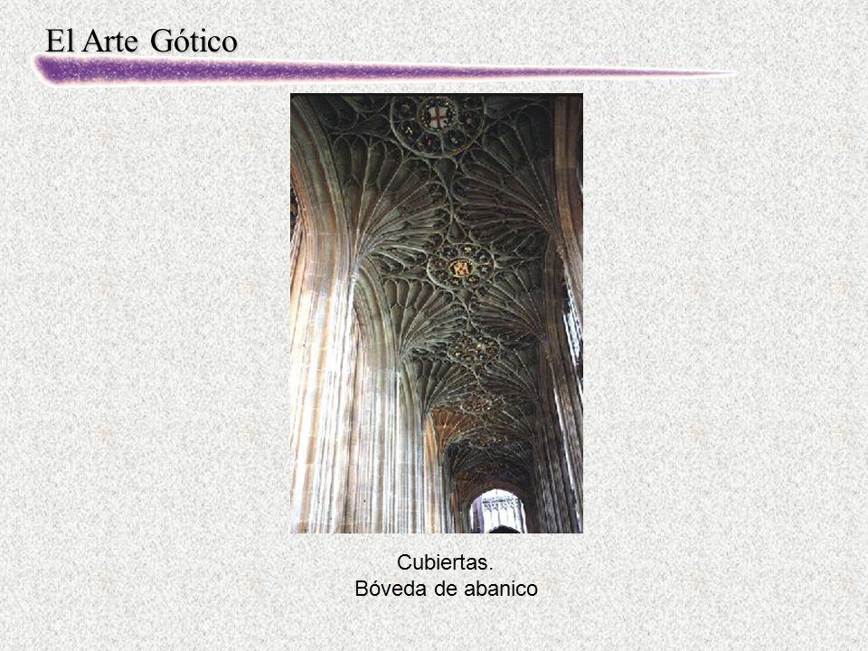 El Arte Gótico Cubiertas. Bóveda de abanico