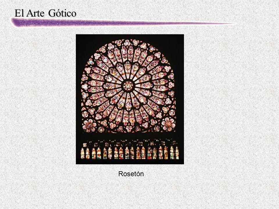 El Arte Gótico Rosetón