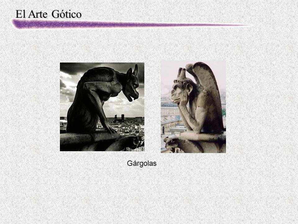 El Arte Gótico Gárgolas