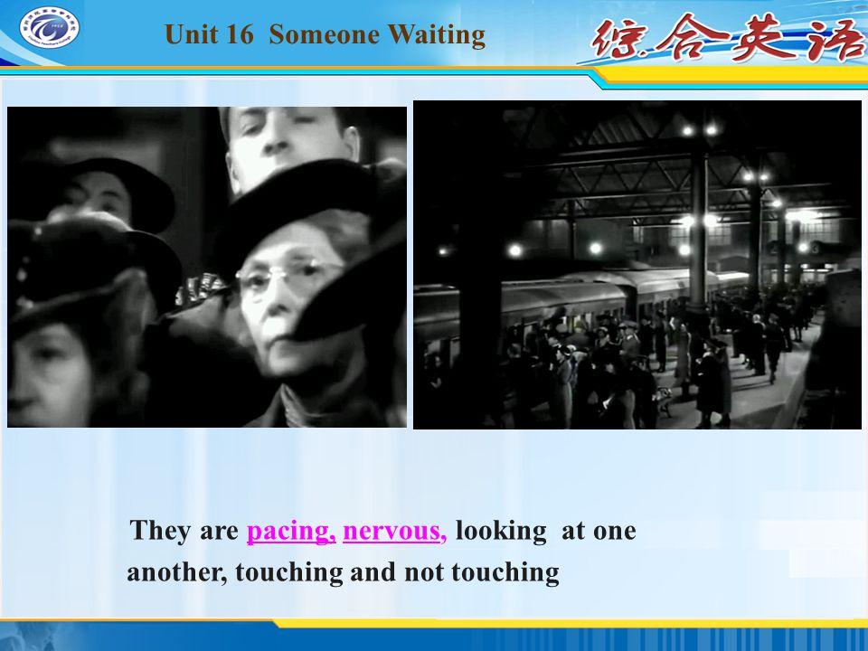 Unit 16 Someone Waiting 综合英语 网络课程