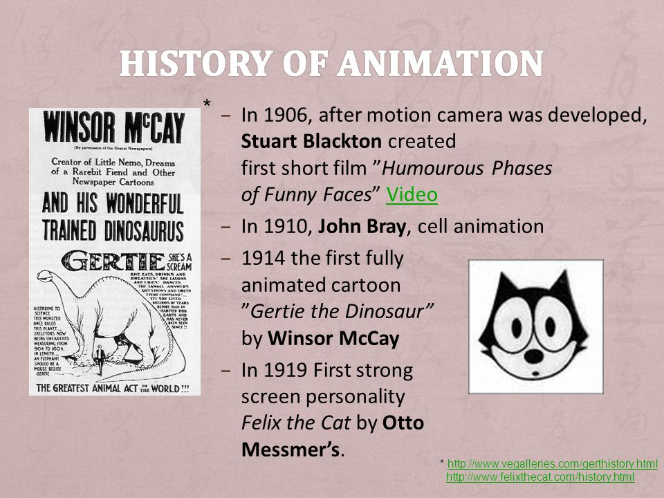 + Created in the early 1930s by animators at the Walt Disney Studios the twelve principles of animation are still relevant nowadays.
